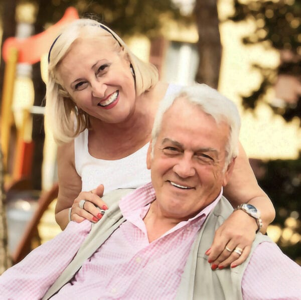 retired dental implant patients